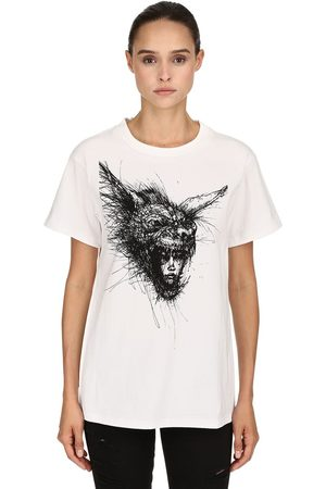 """DIM MAK COLLECTION Donna T-shirt - T-SHIRT """"LVR EDITION THE HYENA"""" IN COTONE"""