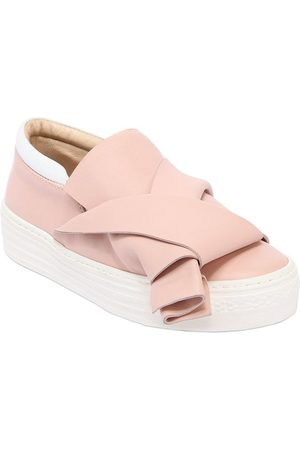 Nº21 SNEAKERS SLIP-ON IN PELLE