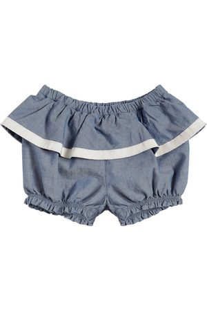 Moncler SHORTS IN COTONE CHAMBRAY