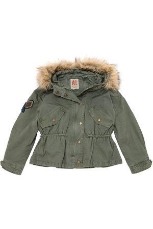 American Outfitters PIUMINO IN TELA DI COTONE CON CAPPUCCIO