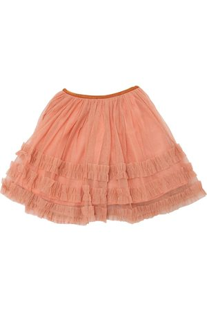 GONNA IN TULLE GLITTER STRETCH