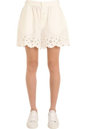 Donna Pantaloncini - Tommy Hilfiger SHORTS IN COTONE PERFORATO