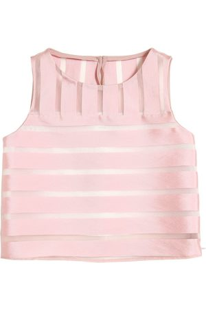 Milly TOP IN ORGANZA JACQUARD