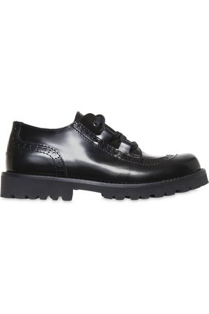 Bambino Scarpe eleganti - Dolce & Gabbana LEATHER DERBY LACE-UP SHOES