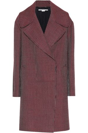Stella McCartney Cappotto in lana pied-de-poule