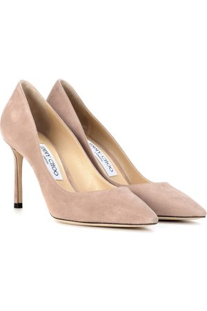 Jimmy Choo Donna A spillo - Pumps Romy 85 in suede