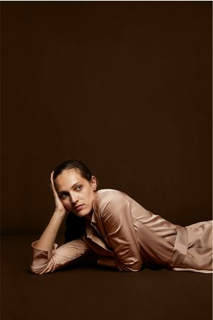 ... Donna  Vestiti lunghi  Zara. Zara ABITO CHEMISIER LUNGO 8e005451e81