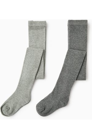Zara Confezione di due calze basic tinta unita