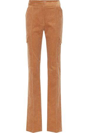 Stella McCartney Donna Pantaloni - Pantaloni in velluto a coste