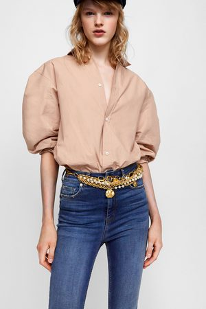 Zara Donna Jeans a vita alta - JEANS HIGH WAIST SPRING BLUE