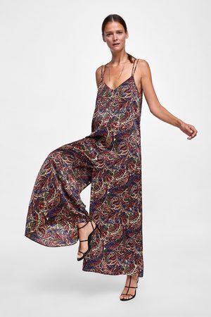 Zara PAISLEY PRINT JUMPSUIT