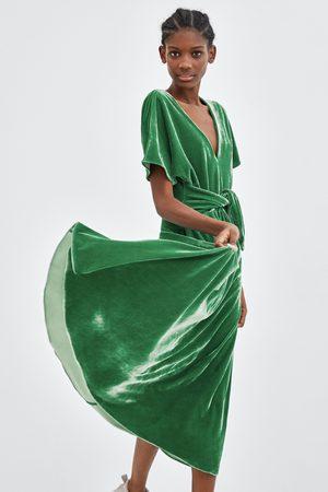 c4516398cfe9 Zara Velluto Abbigliamento Donne