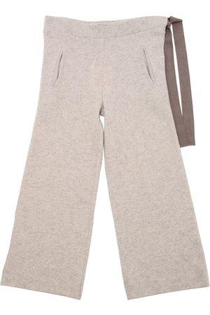 Unlabel Pantaloni In Maglia Di Lana Con Coulisse