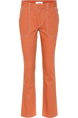 Chloé Pantaloni in cotone stretch