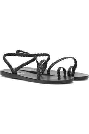 Ancient Greek Sandals Sandali Eleftheria in pelle
