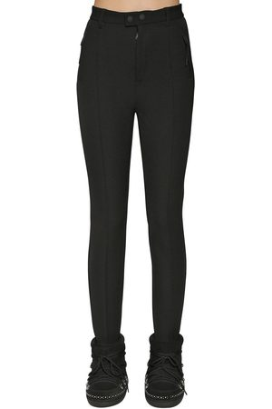 Dsquared2 Donna Pantaloni - Pantaloni Sci In Lycra Con Staffe