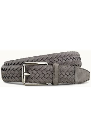 Tod's Uomo Cinture - Cintura in Pelle Scamosciata