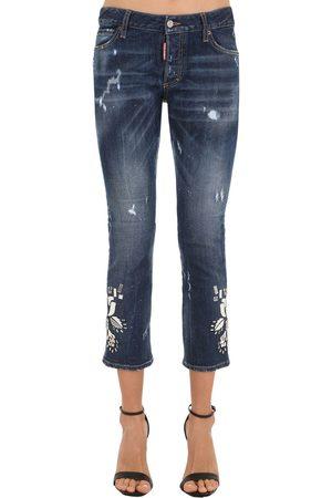 Dsquared2 Jeans In Denim Di Cotone
