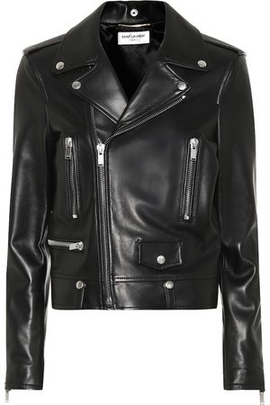 Saint Laurent Giacca biker in pelle