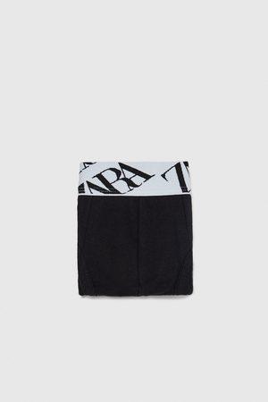 Zara Shorts - BOXER STAMPA MIMETICA