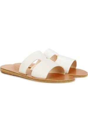 Ancient Greek Sandals Sandali Apteros in pelle