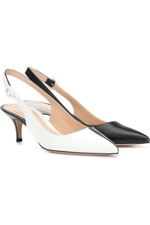 Gianvito Rossi Pumps slingback Anna in pelle