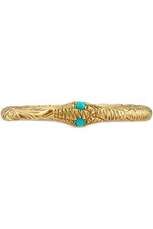 Gucci Anello con Ouroboros in oro