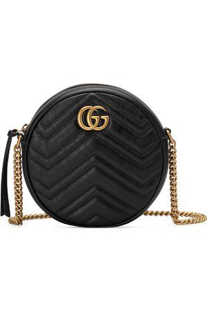 Gucci Mini borsa a spalla rotonda GG Marmont