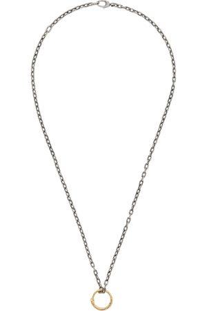 Gucci Collana con pendente anello con serpente in oro . 288510c9e87b