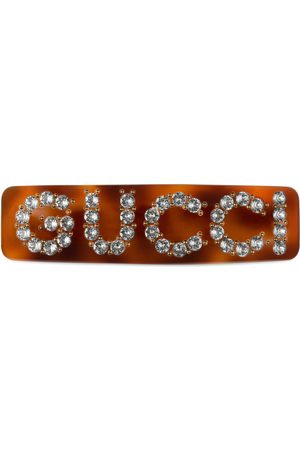 Gucci Fermaglio per capelli con cristalli