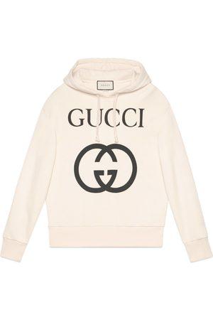 Gucci Felpa con cappuccio e stampa GG