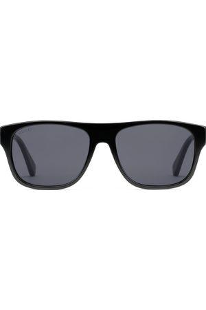 Gucci Uomo Occhiali da sole - Occhiali da sole rettangolari in acetato