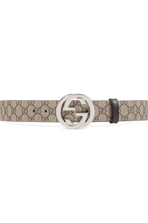 Gucci Cintura in tessuto GG Supreme con fibbia GG
