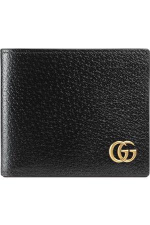 Gucci Portafoglio bi-fold GG Marmont in pelle