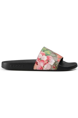 Gucci Sandalo incrociato GG Blooms