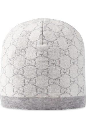 Gucci Cappello in lana con motivo GG