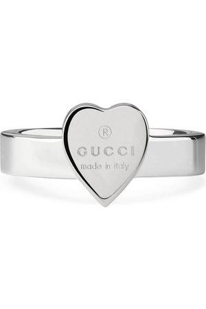 Gucci Donna Orologi - Anello a cuore con trademark