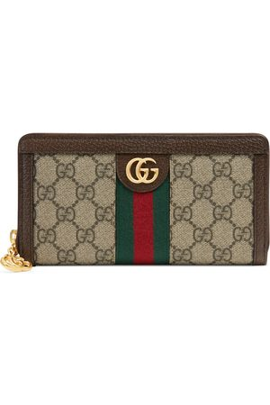 Gucci Portafoglio Ophidia in GG Supreme con zip