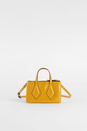 e08c9fc97e Prezzi Compara Shopper Zara Donne Tote E Online Acqusita I Gialla 0qqwBU