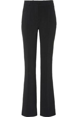 Victoria Victoria Beckham Pantaloni dritti in misto lana