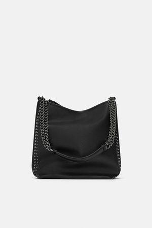 Zara Borsa a sacca con catene b19ce949a21