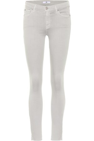 7 for all Mankind Jeans The Skinny Crop Slim Illusion
