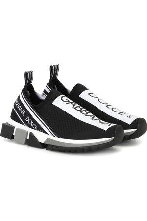 Dolce & Gabbana Sneakers a calza Sorrento con logo