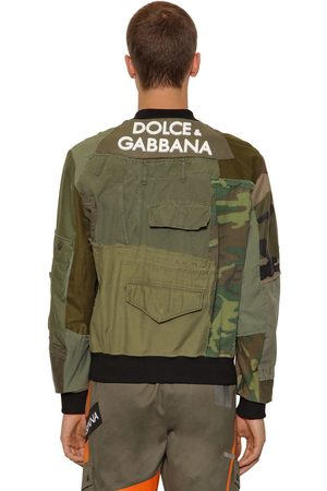 Dolce & Gabbana Giacca Military Patchwork