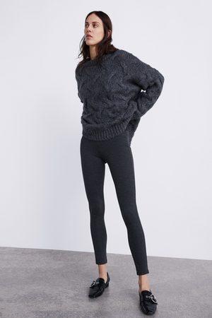 Zara LEGGINGS PIED DE POULE
