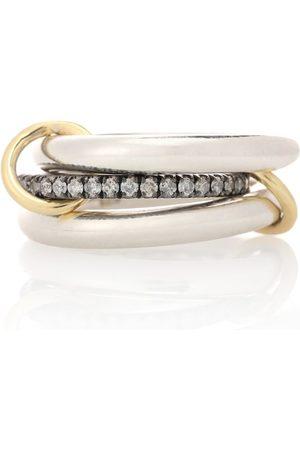 SPINELLI KILCOLLIN Donna Anelli - Anello Libra Noir in oro giallo 18kt, e diamanti