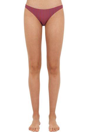"Solid Slip Bikini ""seersucker"""