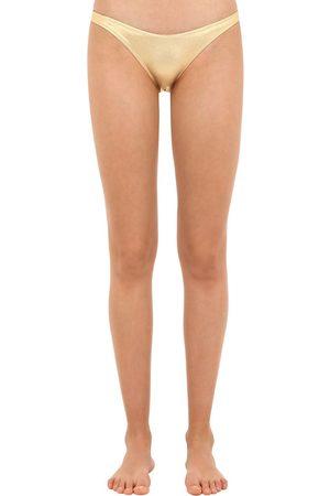 Solid Slip Bikini Metallizzati
