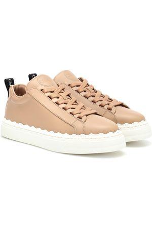 Chloé Sneakers Lauren in pelle