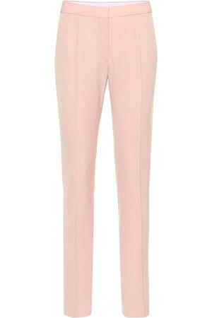 Stella McCartney Pantaloni in twill di lana